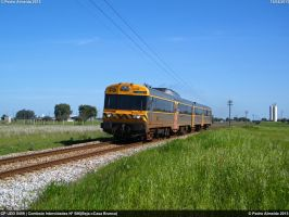 CP UDD 0459 IC586 Alentejo Mainline-Cuba 130413 by Comboio-Bolt