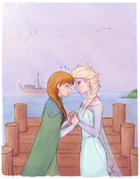 Platonic Elsanna by Fieryeel