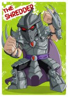 TMNT - The Shredder by happymonkeyshoes