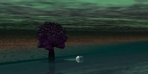 First DA Project-Tree by Water by TheReapersApprentice
