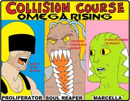 Collision Course cover by backerman