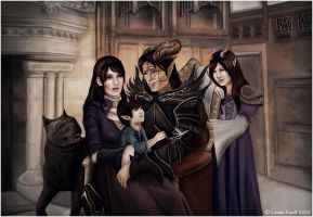 Family Portrait by Isriana