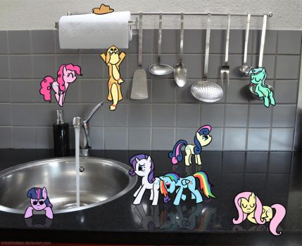 ATG 28: Everypony 'cooking' by SmockHobbes