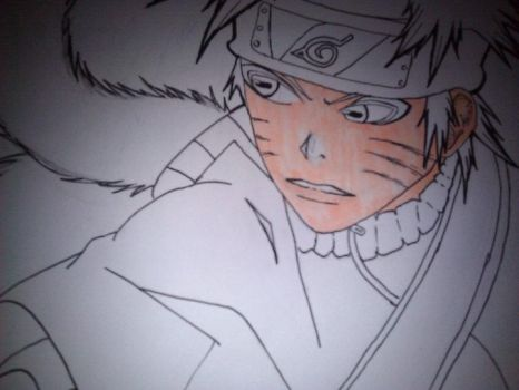 Naruto Sage Mode part 1 by MidnightRocker2