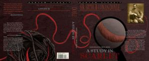 A Study In Scarlet Book Cover by Sugashane09