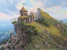 Temple by postapocalypsia