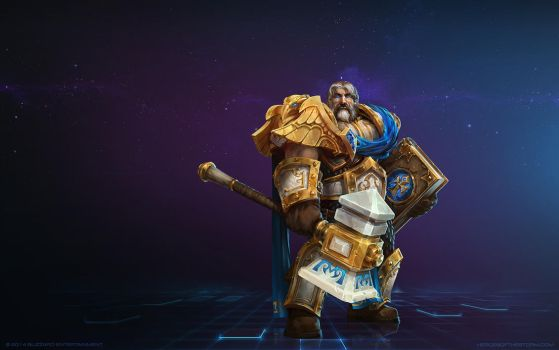 Uther, The Lightbringer by Mr--Jack