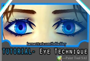 TUTORIAL- EYE TECHNIQUE by kalisami