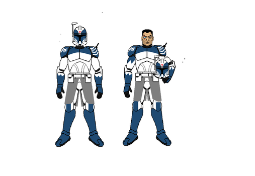 Commander Wolffe by Sonny007