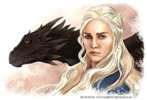 Mother Of Dragons by NaurCalad