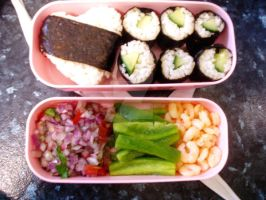 Bento -- 1st with box by photos-for-cookies
