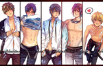 Free! Boys by miho-nyc