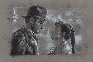 Indy and Marion by JeffLafferty