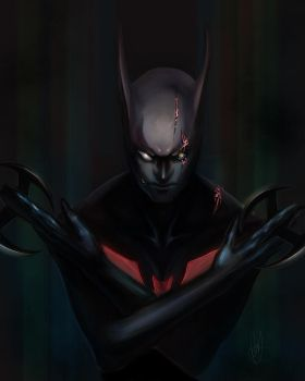 Batman Beyond by lGSG-9Sniper01