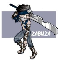 Zabuza the Mist Nin by icyookami