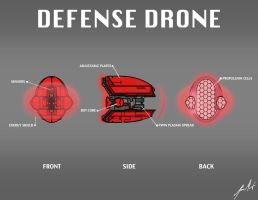 Defense Drone by KevinMassey