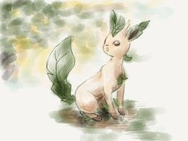 Leafeon by LuminousSky