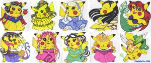 Princess Chu's Series 1 by pikabellechu