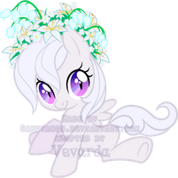 Mystery Evolving Pony Adoptables -Lily stage1- by Sakuyamon