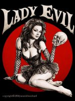 Lady Evil by YannickBouchard