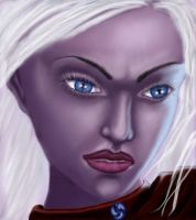 Drow by RavenGrant