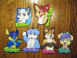 MFF 2012 Gift Badges by NeonSlushie