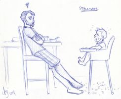 Stalemate (Father's Day 2014) by kuabci