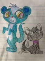 Sunil and Puppy by XRainbowIceCreamX