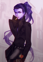 Widowmaker by Valkymie