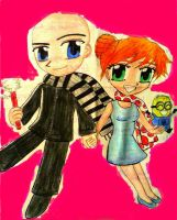 Gru and Lucy by e31