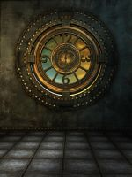 RESTRICTED - Steampunk Age Background by frozenstocks