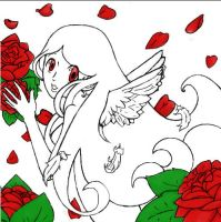 Rose Angel by MandyGameHouse