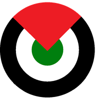 Roundel of a Palestinian Air Force by kyuzoaoi