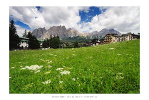 Cortina, Dolomites - III by DimensionSeven