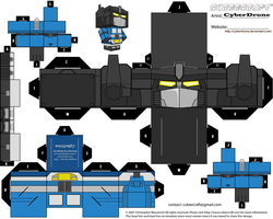 Cubee - Magnus 'Diaclone' by CyberDrone