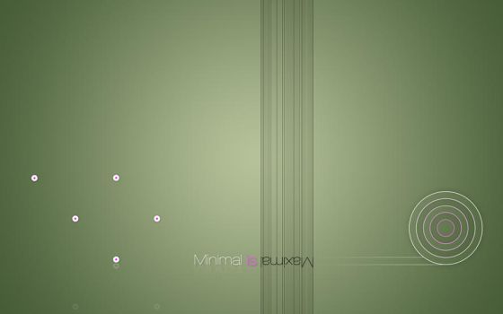 Minimal is maximal by sensign