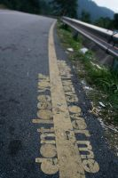 yellow line by mrazz