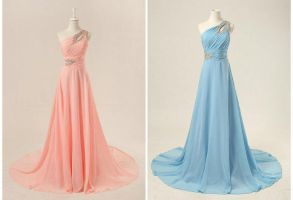 Choose one color, pink or blue by lindayang1122