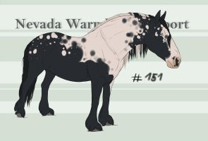 Nevada Warmblood 151 by BRls-love-is-MY-Live