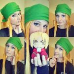 Winry Makeup Test by FullmetalsGirl13