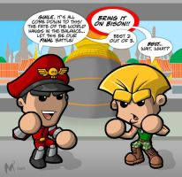 Lil Formers - Street Fighter by MattMoylan