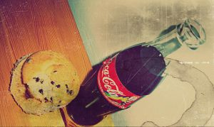 Yummy.coca cola feat.Muffin by vycapeneMORCE