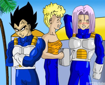 Handsome Too by Dbzbabe