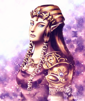 Princess Zelda-Twilight Princess by Ice-P-Z