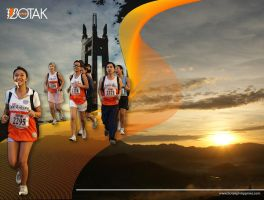 BOTAK Run 3 Wallpaper by tonieliemariae