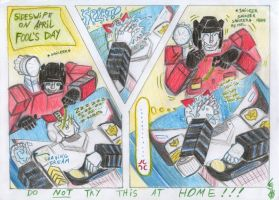 Sides, Prowl 'n shaving cream by LadyScale