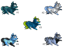 Blue Puppy Adopts - Adopted by Feralx1