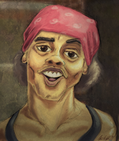 Antoine Dodson Bed Intruder by awesomeoclock