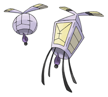 Sky Lantern Pokemon by JoshKH92