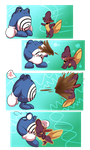 PKMNation | Poliwhirl Playtime by LunaStar52